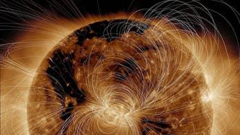 NASA shows incredible image of the Sun 'exploding'