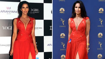 'Top Chef' host Padma Lakshmi recycles dress on Emmys red carpet