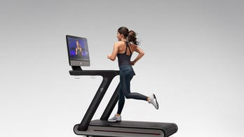 Peloton Tread is an internet-connected treadmill with a massive touchscreen