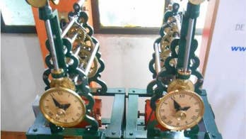 Strangely in sync: Scientists solve 350-year-old pendulum clock mystery