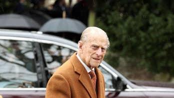 Prince Philip uninjured in car crash, palace says