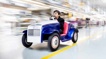 Rolls-Royce builds electric car for children to drive to surgery