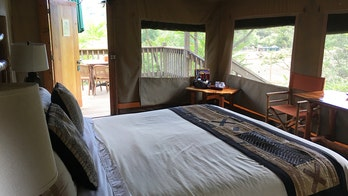 Glamping: A getaway for people who don't like camping, but like the idea of it