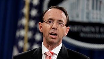 Gregg Jarrett: Rod Rosenstein should immediately stop overseeing the Mueller 'collusion' investigation
