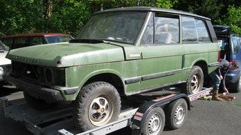 Barn find Range Rover has a royal pedigree