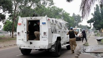 14 UN peacekeepers killed, 53 wounded in deadly Congo rebel attack