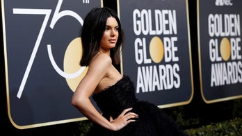 Kendall Jenner hits back at critics over acne at Golden Globes