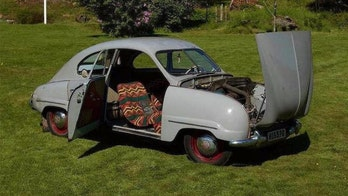One of three remaining 1949 Saab 92 prototypes heading to auction