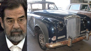 1958 Bentley stolen by Saddam Hussein and destroyed in Iraq War restored in USA