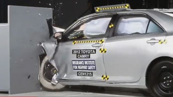 Toyota's Camry performs poorly on new crash test