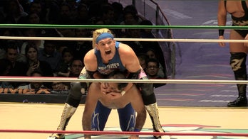 US wrestler strikes gold by making Trump the 'villain' in lucha libre matches