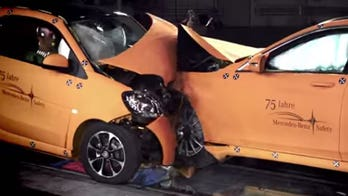 Smart Fortwo crash-tested against Mercedes-Benz S-Class