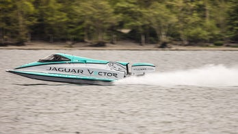 Jaguar Vector Racing sets record for world's fastest electric speedboat