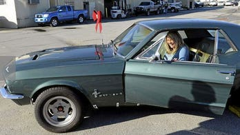 Woman reunited with Ford Mustang stolen 28 years ago