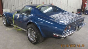 Stolen Chevrolet Corvette found after 42 years, but could go away again