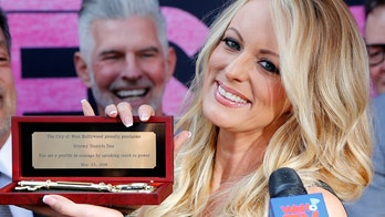 Stormy Daniels honored in West Hollywood with key to city