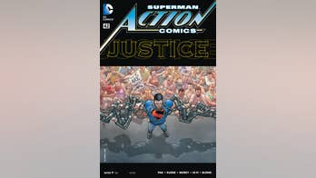 Superman fights the police in new comic paralleling Ferguson riots