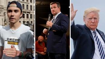 David Hogg, activists raise thousands for billboard featuring Trump's tweets of Ted Cruz
