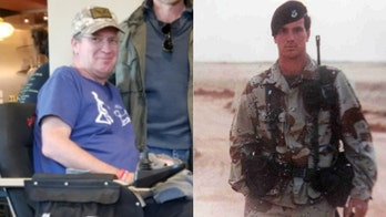 Air Force vet diagnosed with ALS raising awareness while fighting for life