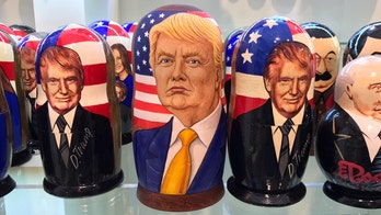 Trump's leadership style - and his likeness - popular with Russians