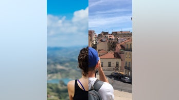 Instagram romance: Traveling couple goes viral with creatively posed shots from across the world