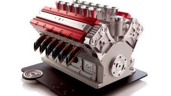 V12 coffee machine perfect for revving up your day