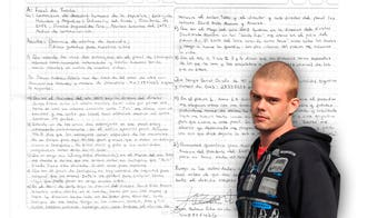 Joran van der Sloot scared for his life in Peruvian jail: 'I don't want to die,' he says