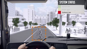 Volvo's pedestrian safety system does the honking for you