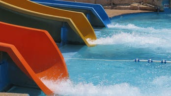 Waterslide stunt goes viral, but he says his friends can do it too