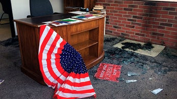 Wyoming GOP office set on fire in apparent arson