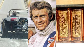 Exclusive: Steve McQueen-linked dune buggy may be a stunt car from his unfinished epic film 'Yucatan'