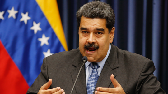 Venezuela's exiled justice department calls on Interpol to arrest president Nicolas Maduro