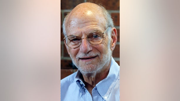 Michael Rosbash smiles during an interview at his home, Oct. 2, 2017. He's one of the Americans awarded this year's Nobel Prize in physiology or medicine.