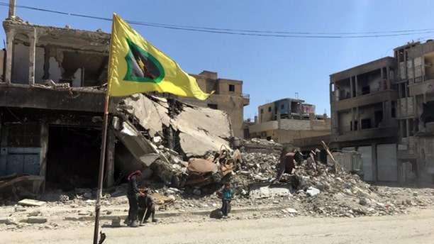 The former ISIS capital of Raqqa has been liberated, but suffered extensive damage.