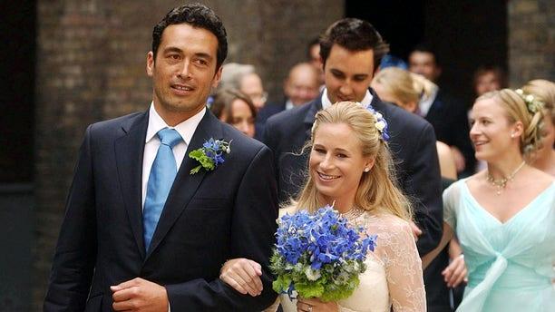 Lady Davina Windsor with husband, Gary Lewis