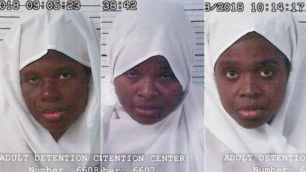 Subhannah Wahhaj, Jany Leveille and Hujrah Wahhaj were arrested on earlier this month.