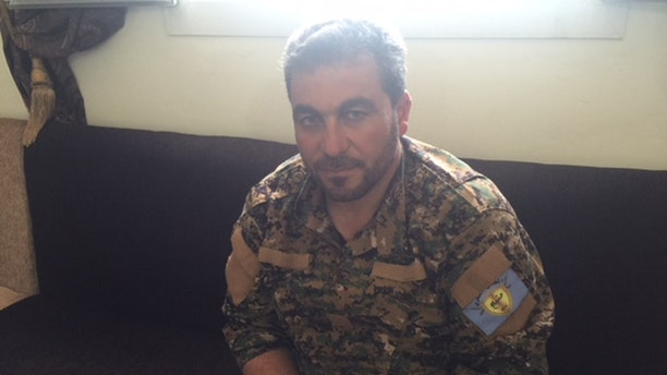 Abu Adel, 39, head of the Manbij Military Council, first joined the Syrian Revolution in 2011 as a fighter with the Free Syrian Army (FSA).