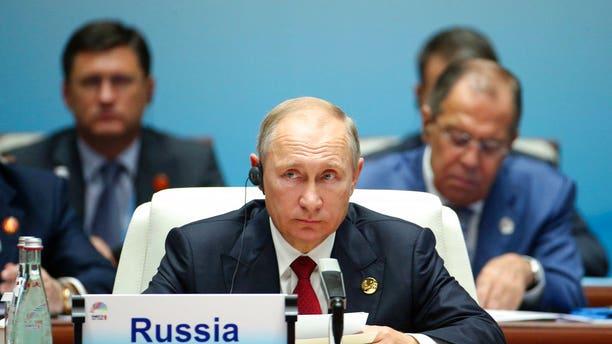 Russian President Vladimir Putin in China on Sept. 5.