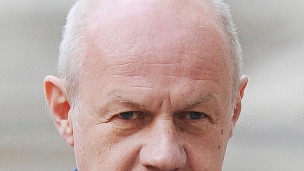Britain's First Secretary of State Damian Green is seen in London.
