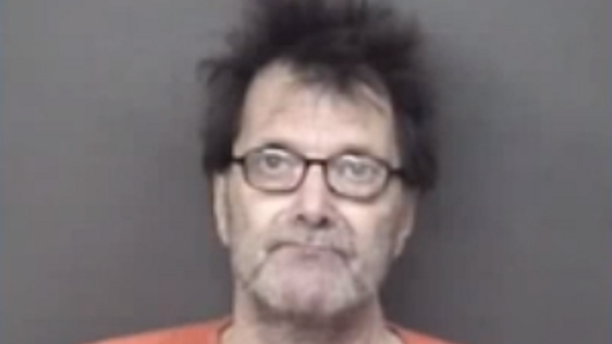 Floyd R. May, 61, was arrested by police and is in Rock Island County Jail on a $550,000 bond, reports said.