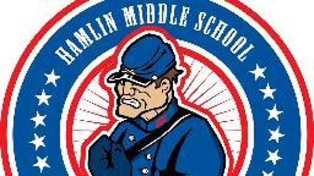 The Rebel logo had been used at Corpus Christi schools, including Hamlin Middle School.
