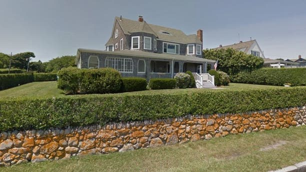 The home in Hyannis Port, Mass., where the pair was arrested on August 20.