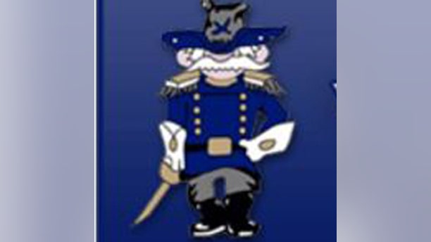 The mascot for Weld Central High School is a Civil War soldier.