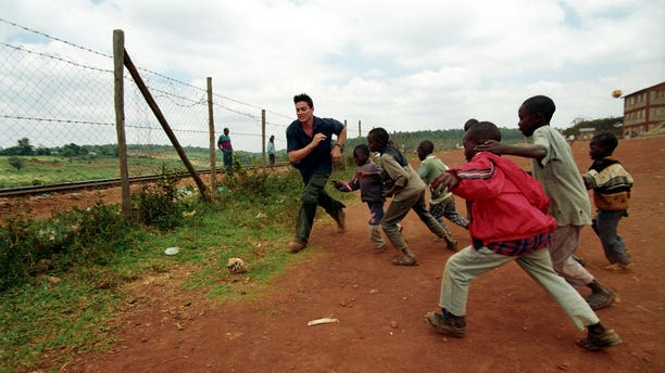 Rye Barcott in Kibera
