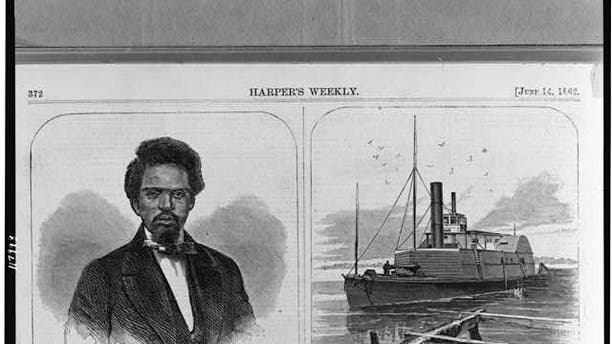 An article about Robert Smalls commandeering the Confederate Ship.