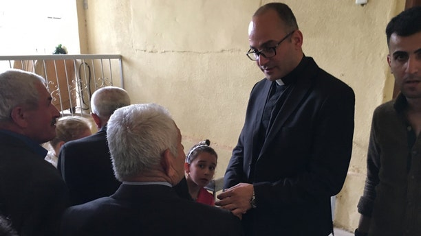 Fr. Kajo is also leading a core group of other clergy and villagers who have chosen to stay.