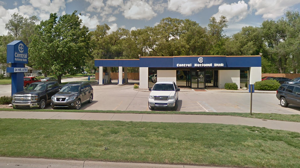 A screen shot of Central National Bank in Wichita, Kansas, according to The Wichita Eagle.