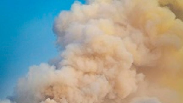 The wildfires broke out on Sunday in Sonoma County, Calif.