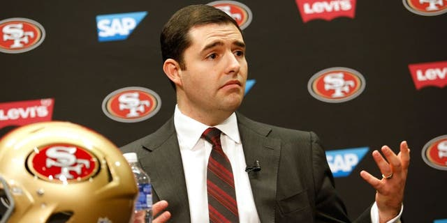 Jed York was in finance before going to the Niners. (Photo by Michael Zagaris/San Francisco 49ers/Getty Images)