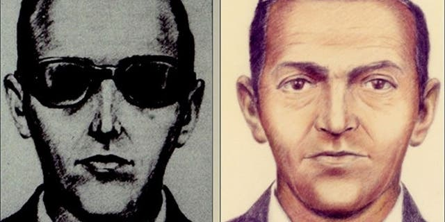 The FBI released these sketches after a man named D.B. Cooper hijacked a plane flying from Portland to Seattle on Nov. 24, 1971 and then parachuted out the back door with $200,000, never to be seen again